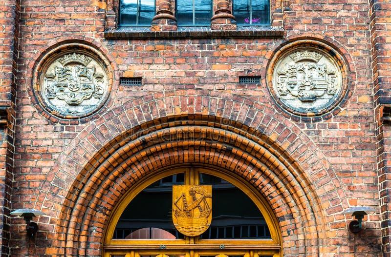 Download Stadshuset Av Elsinore Eller Helsingor - Danmark Arkivfoto - Bild av cityscape, regering: 78726668