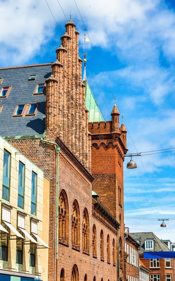 Download Stadshuset Av Elsinore Eller Helsingor - Danmark Fotografering för Bildbyråer - Bild av sten, medeltida: 78726681