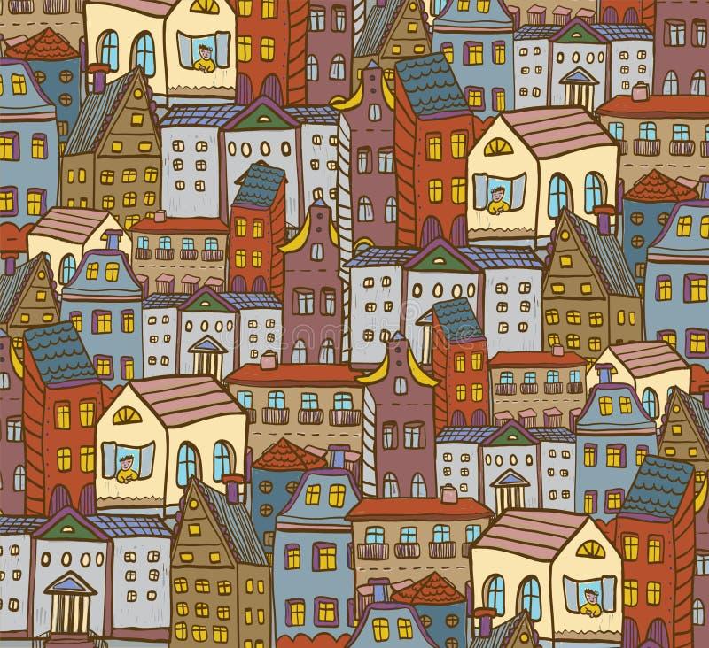 Stadshusmodell arkivfoto