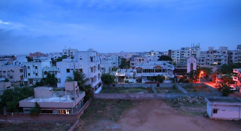 stadshyderabad indier arkivbild