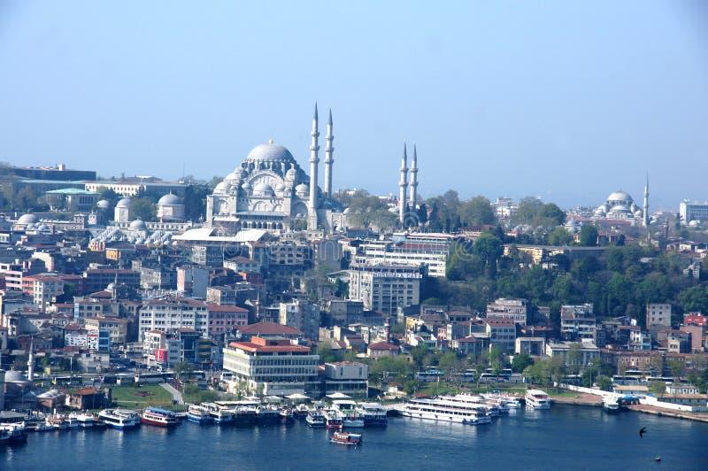 StadsIstanbul huvudstad Turkiet royaltyfri fotografi