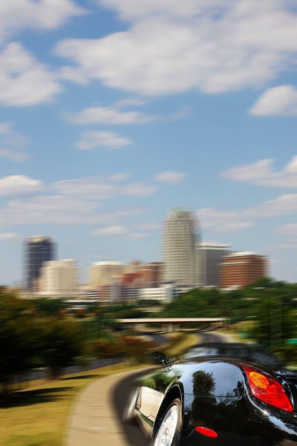 stadskörning arkivfoto