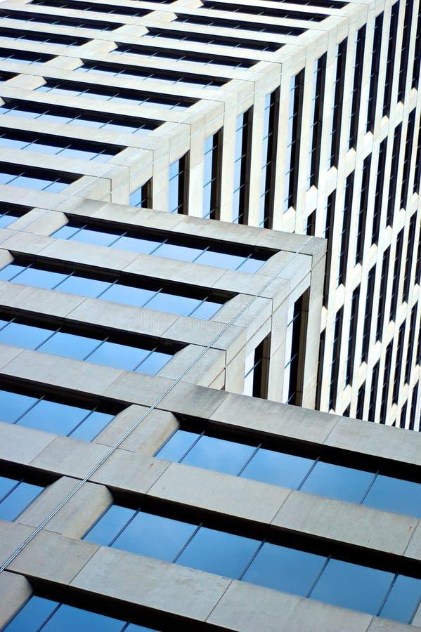 stadskansas skyscaper arkivfoto