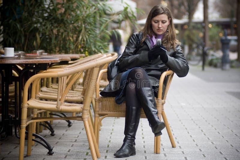 stadskvinna fotografering för bildbyråer
