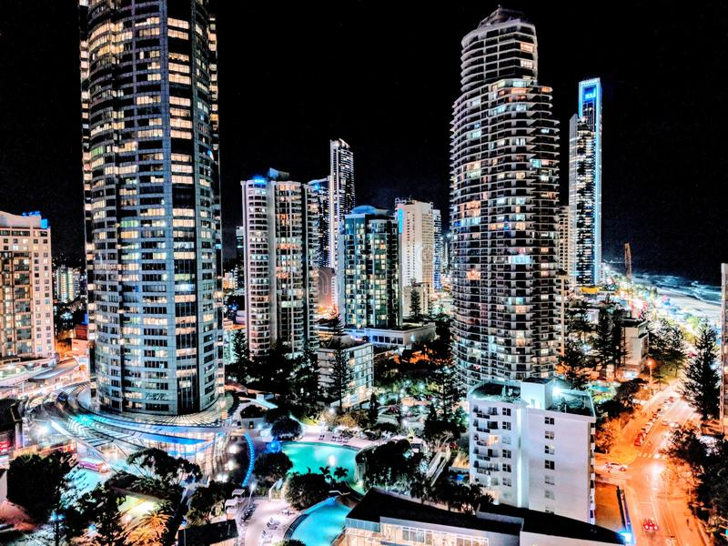 stadslampor arkivbilder