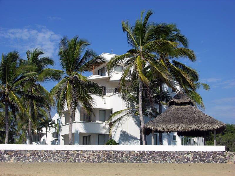 stadsmanzanillo semesterort royaltyfria bilder