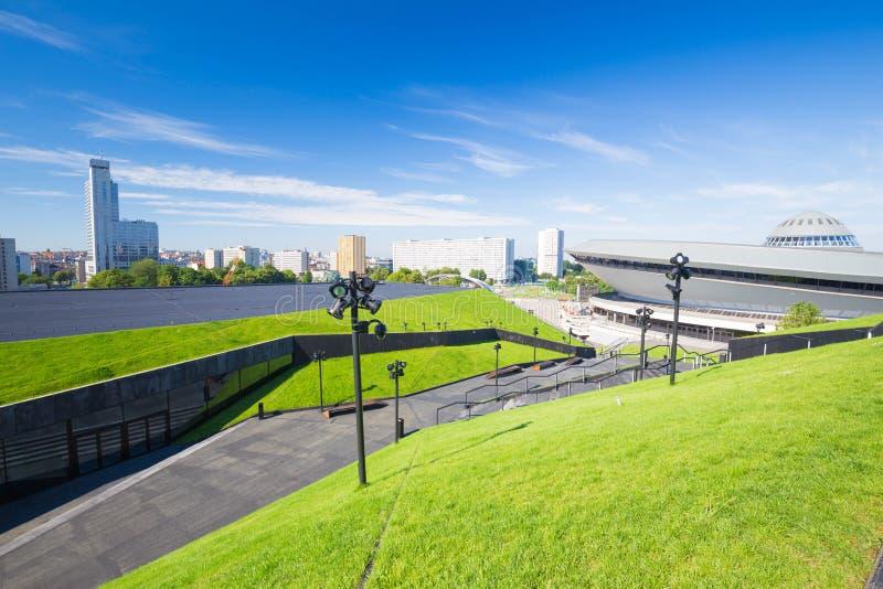 Stadsmening Katowice/Polen royalty-vrije stock afbeelding