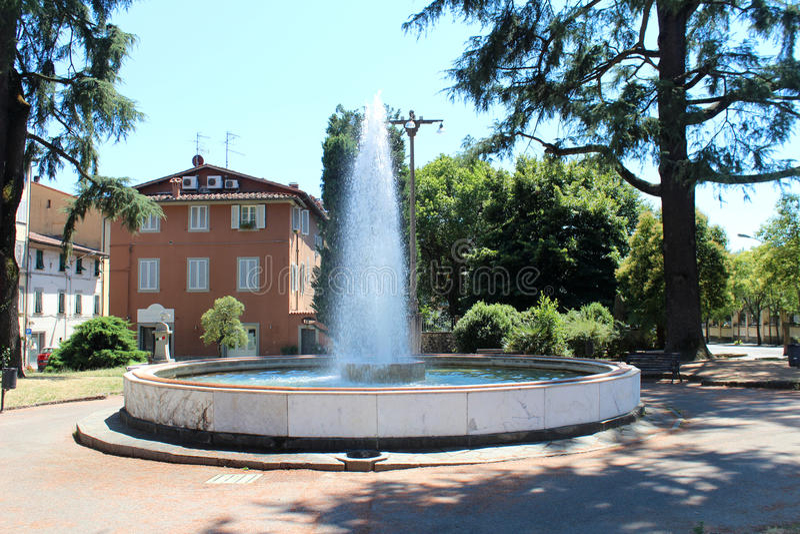 Stadsmening van Pescia, Italië royalty-vrije stock foto