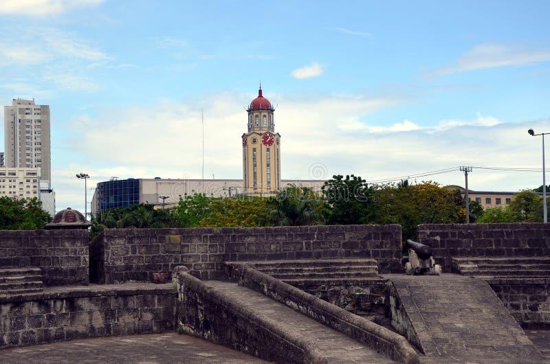 Stadsmeningen van Manilla royalty-vrije stock afbeeldingen