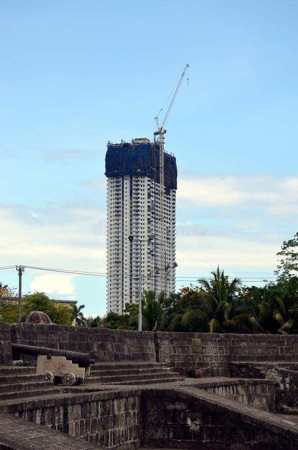 Stadsmeningen van Manilla royalty-vrije stock foto