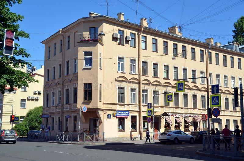Stadsmeningen van St. Petersburg royalty-vrije stock fotografie
