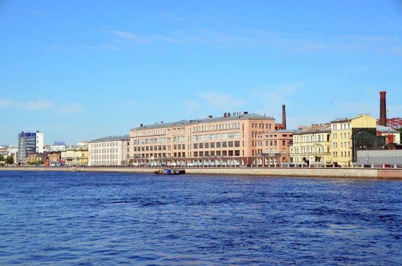 Stadsmeningen van St. Petersburg, Rusland stock fotografie