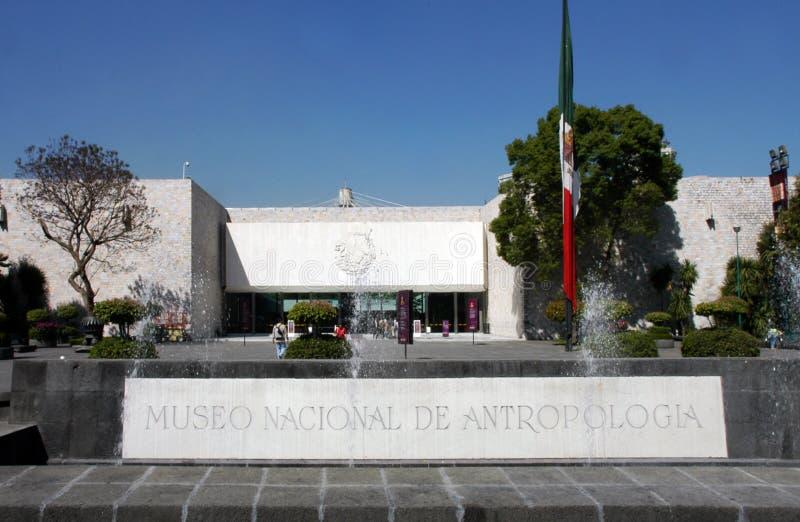 stadsmexico museum royaltyfria foton