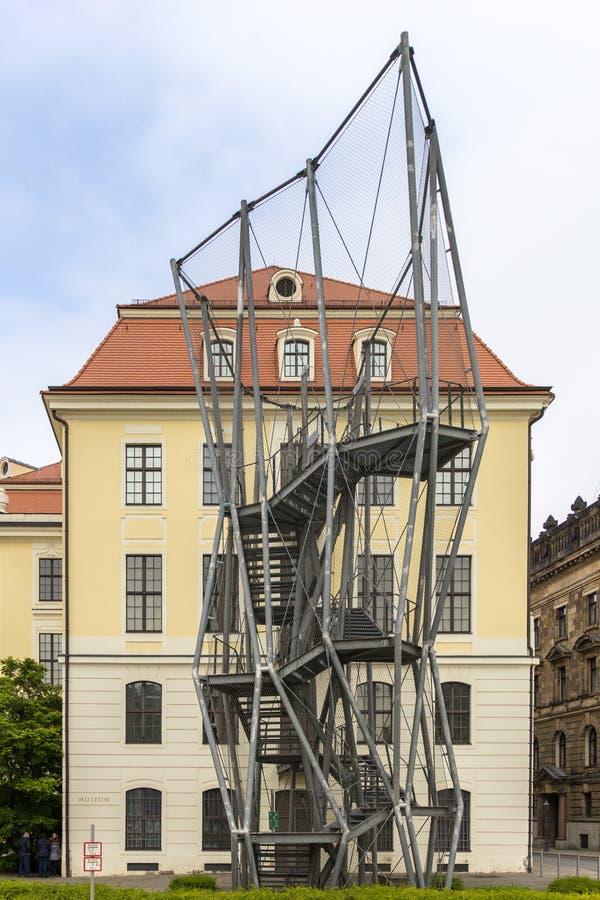 Stadsmuseum Dresden stock foto's