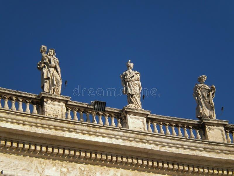 stadspeter s fyrkantig st vatican royaltyfri fotografi
