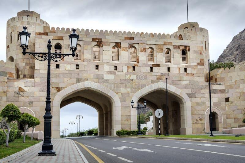 Stadsport Muscat arkivbild