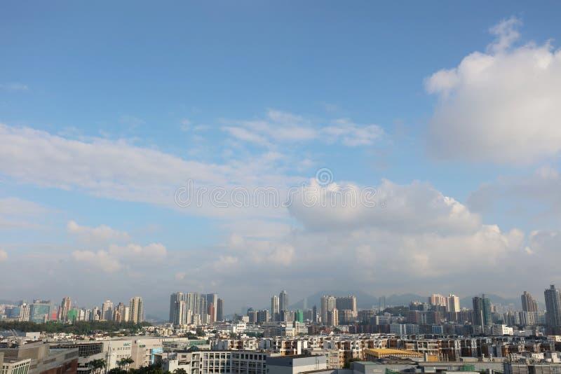 stadsscapen av kowloon den östliga delen royaltyfria bilder