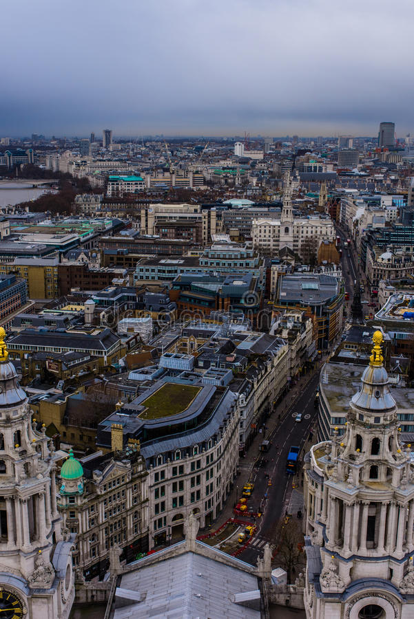 Stadssikt av london royaltyfri fotografi