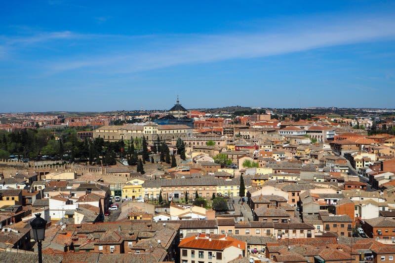 Stadssikt av Madrid, Spanien royaltyfria bilder