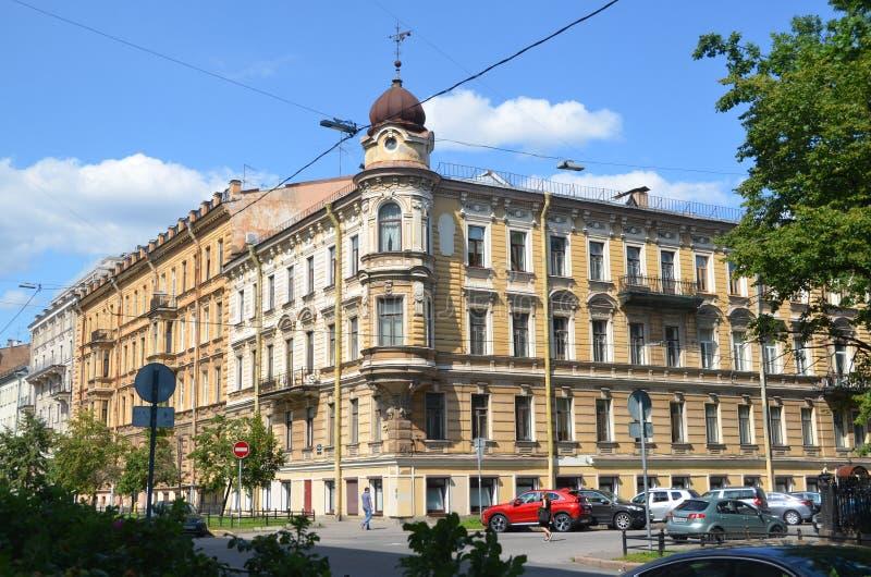 Stadsstandpunten van Sint-Petersburg, Rusland stock fotografie