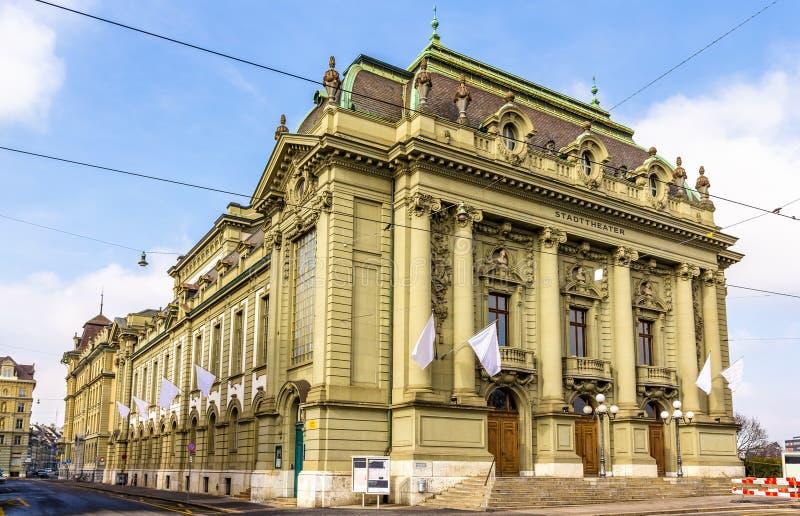 Stadstheater van Bern stock foto's
