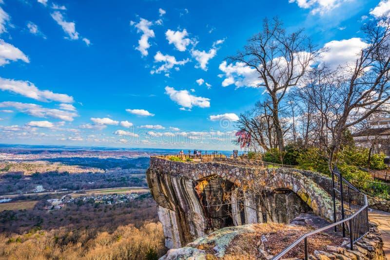 Stadsträdgårdar i Chattanoga Tennessee TN royaltyfria bilder