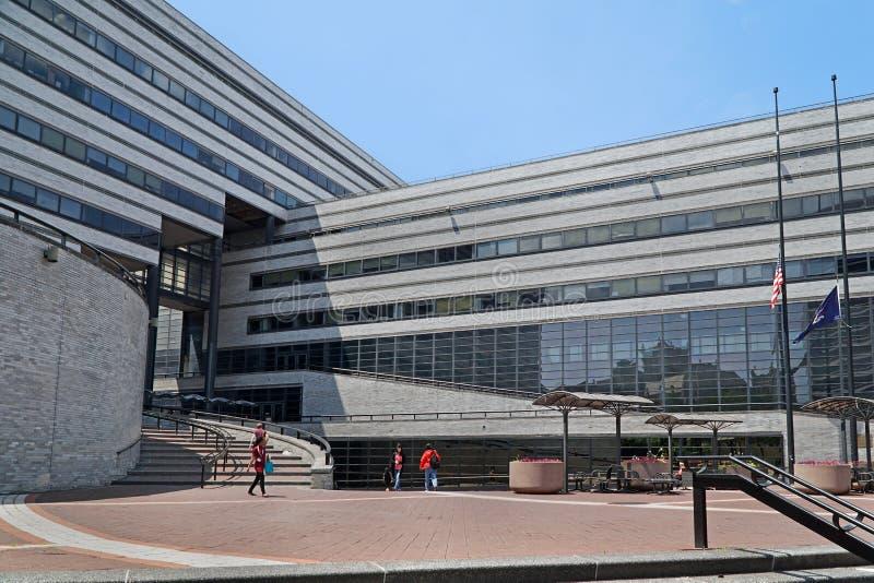 Stadsuniversiteit van New York stock afbeelding