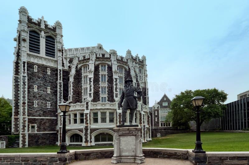 Stadsuniversiteit van New York royalty-vrije stock afbeelding