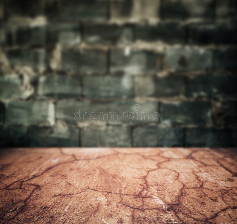 Stadsvloer en steenmuur stock afbeeldingen