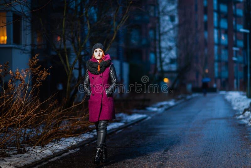 Stadsvrouw stock foto's