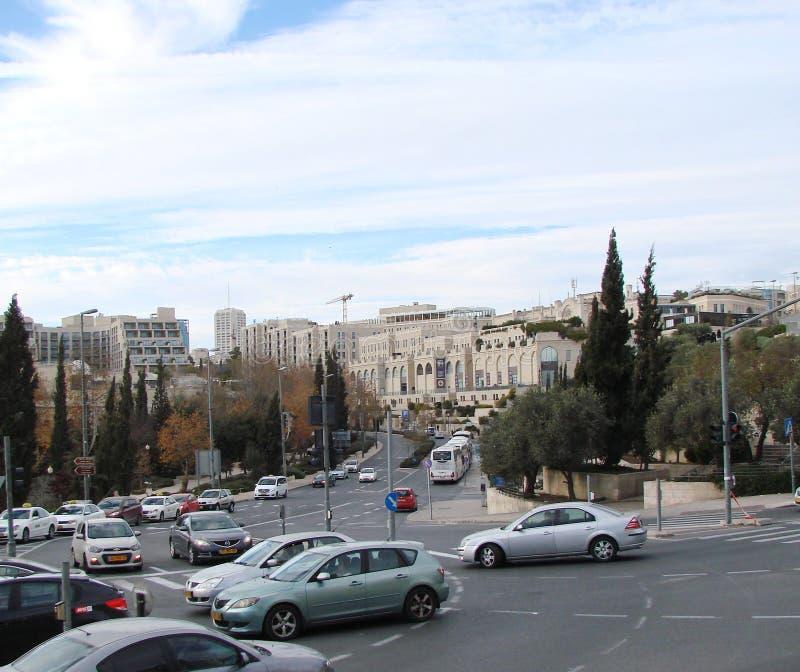 Stadt †‹â€ ‹von Jerusalem israel Panorama der religiösen Architektur des alten Stadtteiles stockfoto