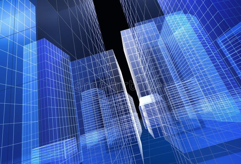 Stadt stock abbildung