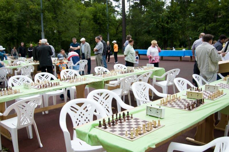 Stadt Angarsk Sommer 2012 - 47a lizenzfreie stockfotos