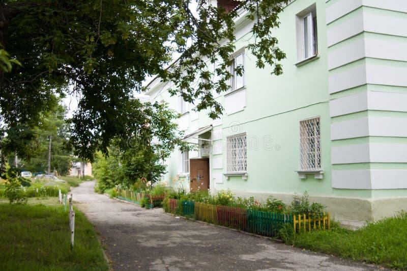 Stadt Angarsk Sommer 2012 - 45 lizenzfreies stockfoto