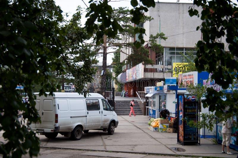 Stadt Angarsk Sommer 2012 - 53 lizenzfreie stockbilder