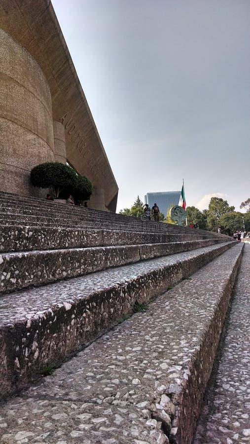 Stadt Auditorio Nacional México lizenzfreie stockbilder
