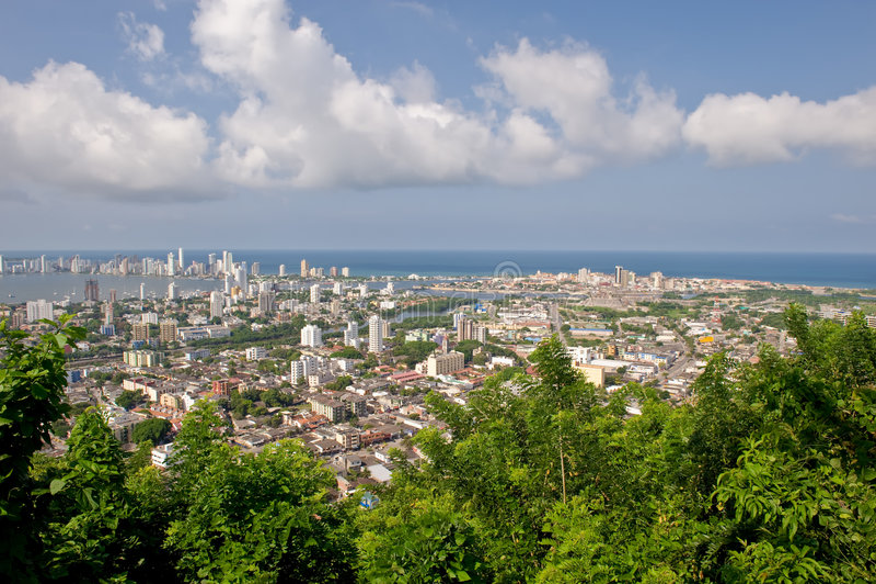 Stadt Cartagena-de Indias lizenzfreies stockbild