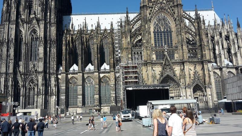 Stadt Cologne lizenzfreie stockfotos