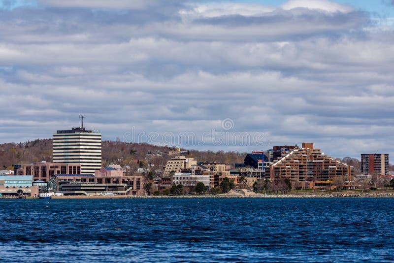 Stadt Dartmouth in Kanada stockbilder