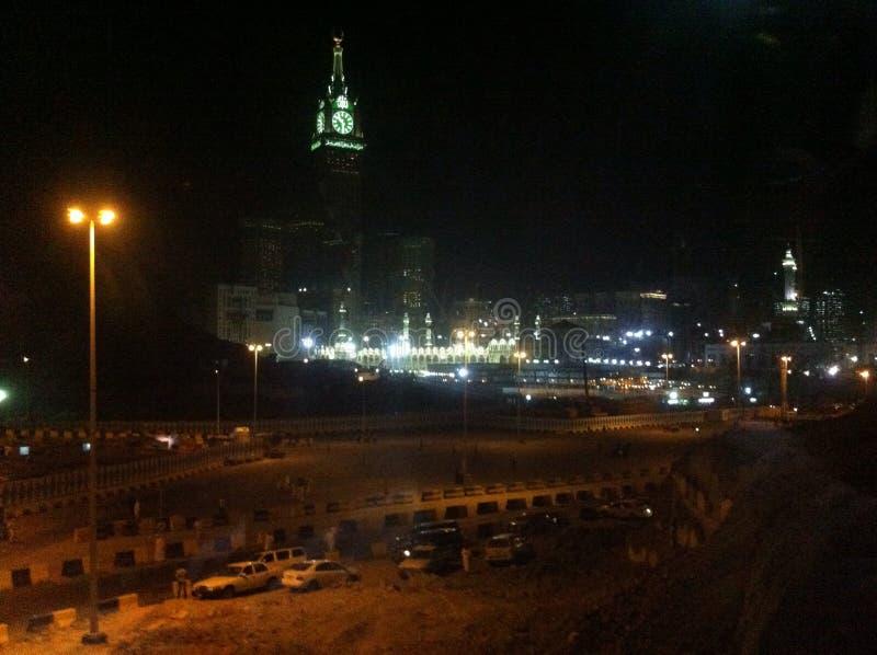 Stadt des Mekkas stockbilder