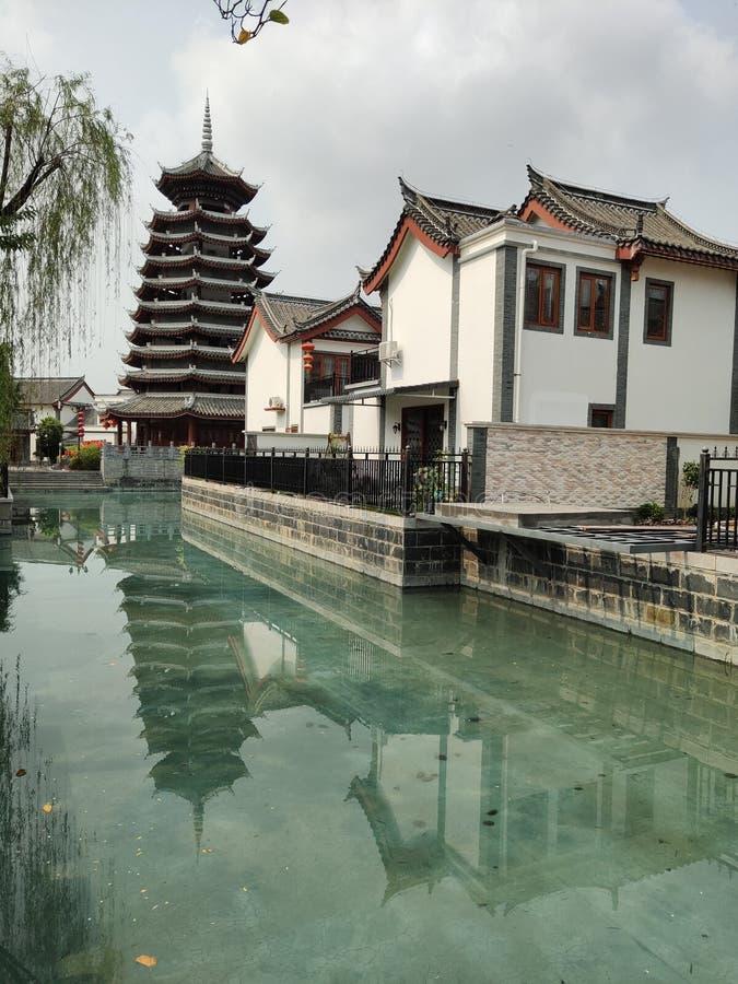Stadt-Fr?hlings-Tourismus-Aufzeichnung Chinas Guangxi Beihai lizenzfreies stockfoto