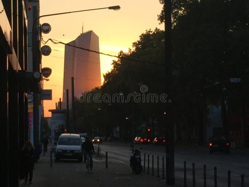 Stadt Frankfurt lizenzfreie stockfotos
