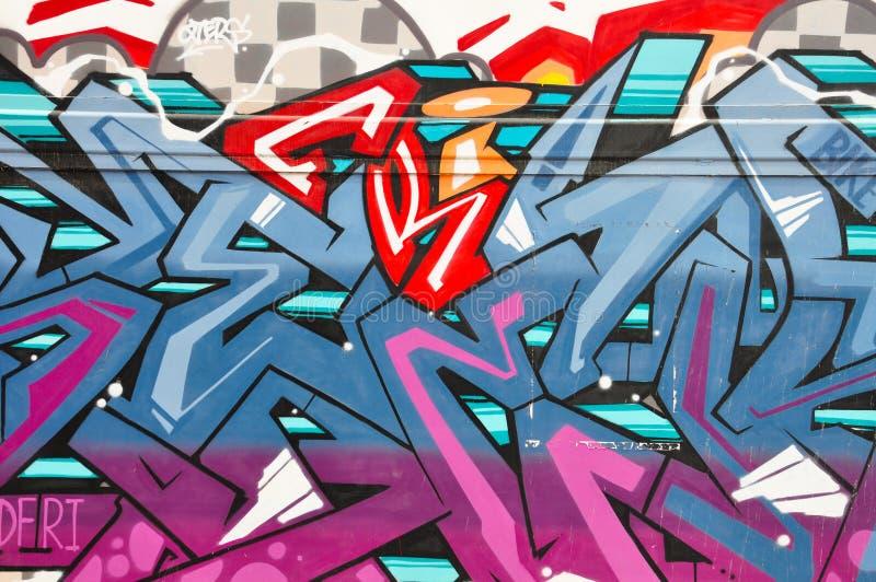 Stadt-Graffiti stockbilder