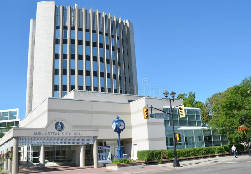 Stadt Hall Burlington Ontario stockfoto