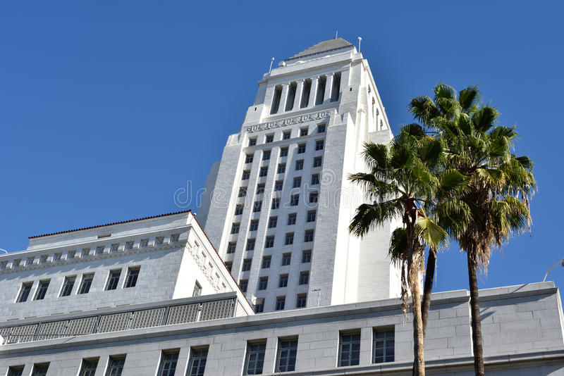 Stadt Hall Los Angeles stockfoto