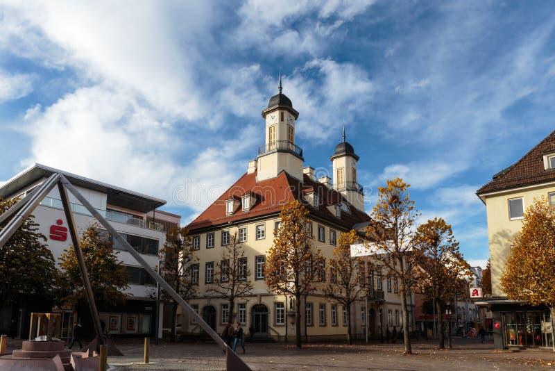 Stadt Hall Tuttlingen stockfotos