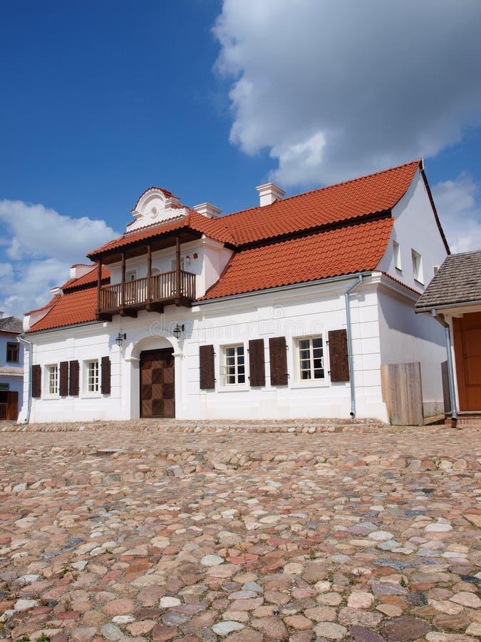 Stadt-Halle von GÅ-'usk, Lublin, Polen lizenzfreie stockfotografie