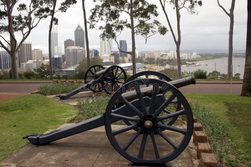 Stadt-Kanone Stockbilder