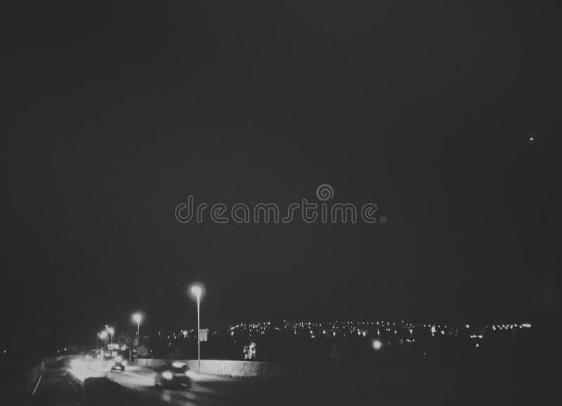 Stadt-Leuchten stockbilder