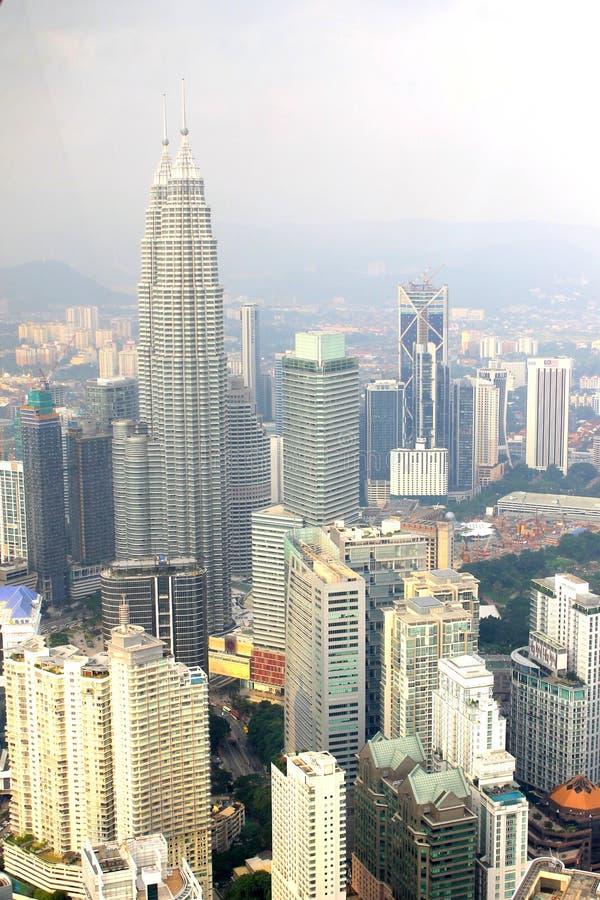 Stadt in Malaysia stockbilder